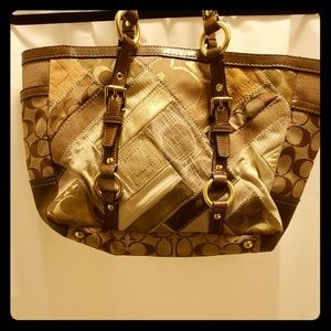 Coach Bag Patch Patchwork Monogram